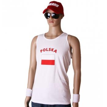 T shirts met vlag Polska print