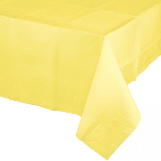 Tafellaken geel 274 x 137 cm
