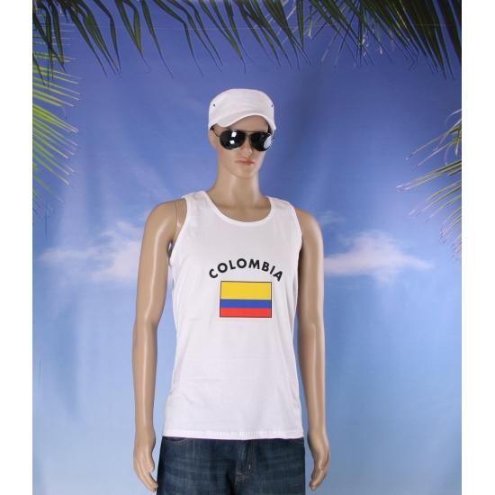 Tanktop met vlag Colombia print