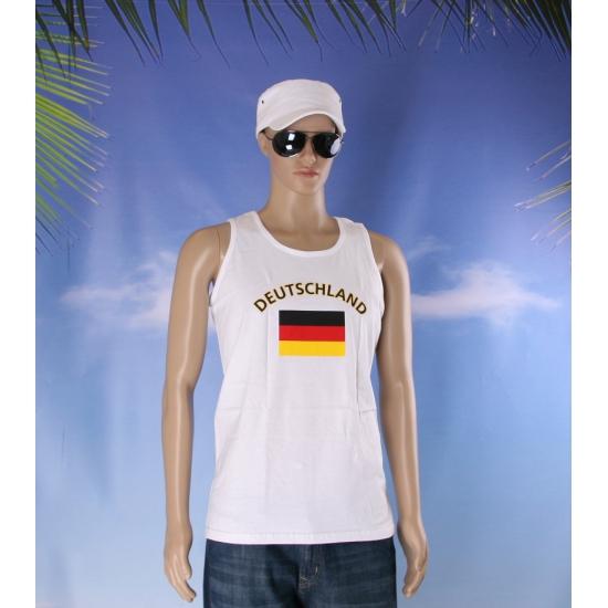 Tanktop met vlag Duitsland print
