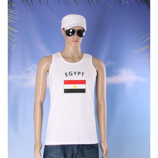 Tanktop met vlag Egypte print