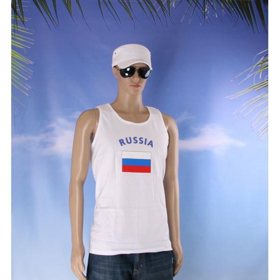 Tanktop met vlag Rusland print