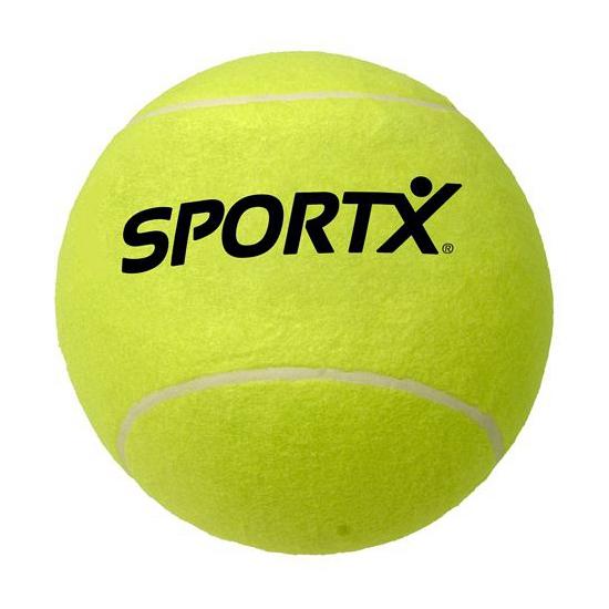 Tennis bal SportX 13 cm