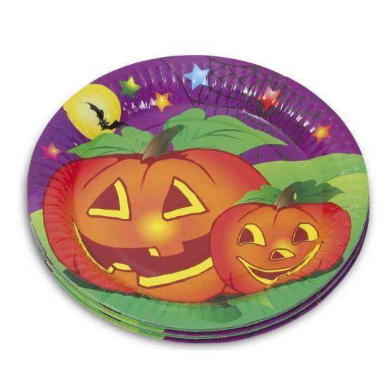 Thema Halloween bordjes 10 stuks