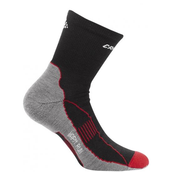 Thermo hardlopers sokken zwart