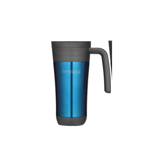 Thermosbeker koffie turquoise