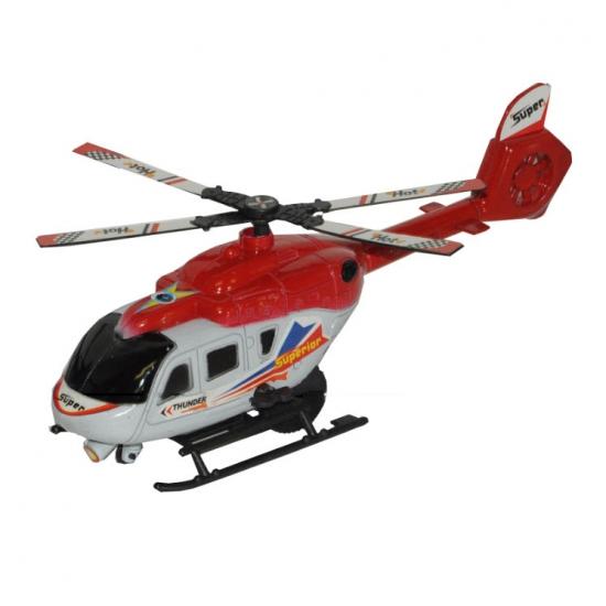 Thunder Superior rode speel helikopter 21 cm