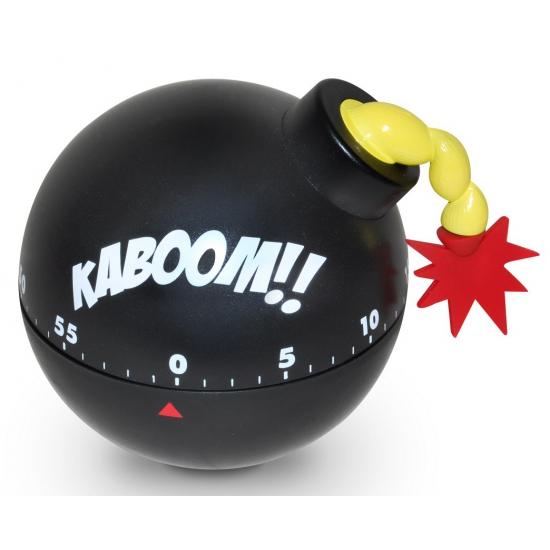 Tikkende tijdbom gadget zwart