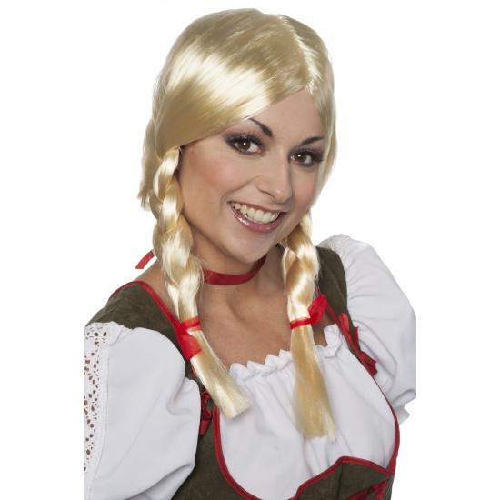 Tiroler damespruiken Greetje blond