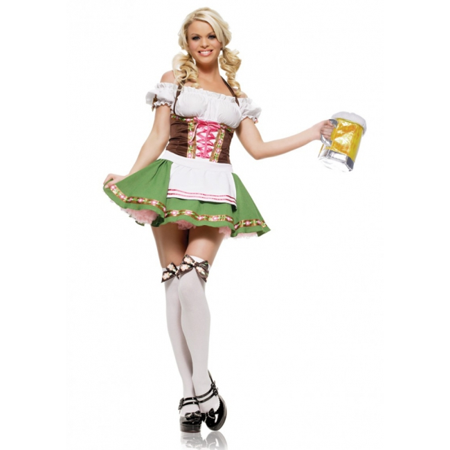 Tiroler verkleedkleding voor dames