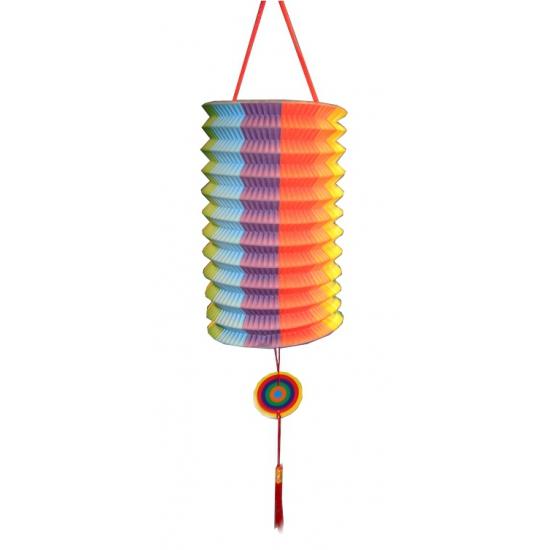 Treklampion regenboog