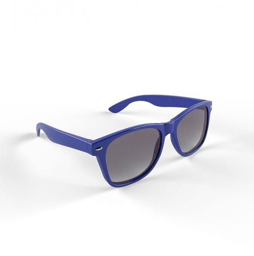 Trendy blauw montuur zonnebril