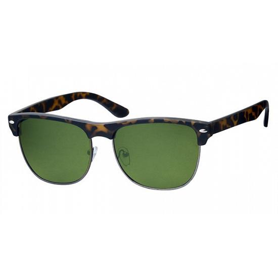 Trendy bruine Clubmaster zonnebrillen