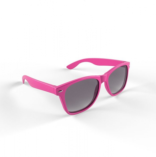 Trendy roze montuur zonnebril