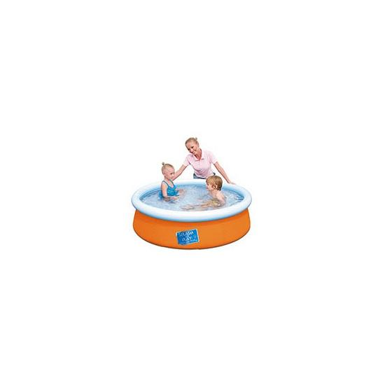 Tuin zwembad oranje 152 cm