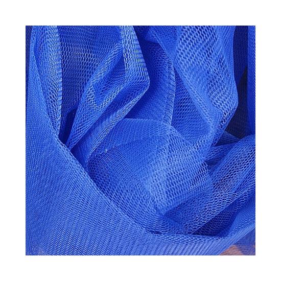 Tule in enamel blauwe kleur