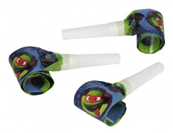 Turtles blaastongen 6 stuks