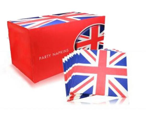 Twintig Engelse servetten