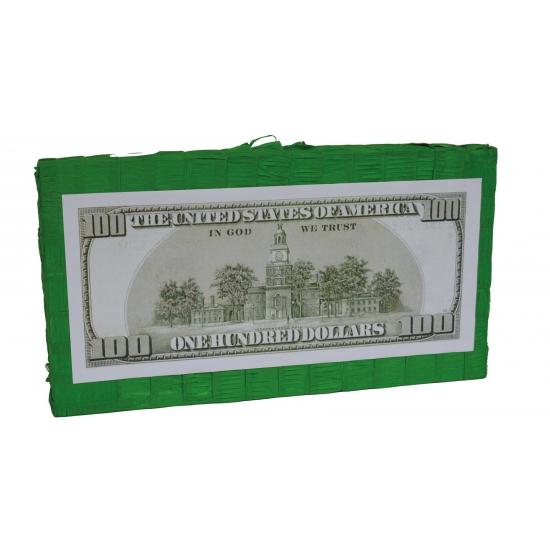 USA dollar pinata