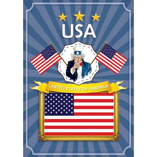 USA thema deur posters