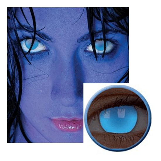 UV blauwe feestlenzen