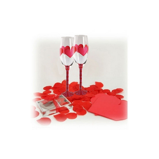 Valentijn ontbijt versiering
