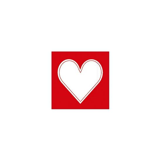 Valentijn servetten 20 stuks