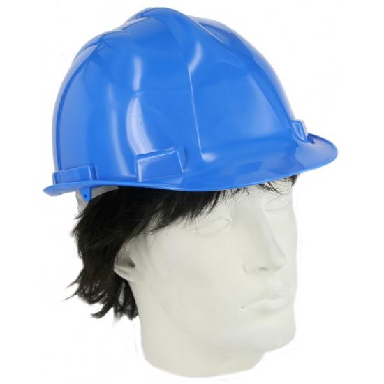 Veiligheids helm blauw