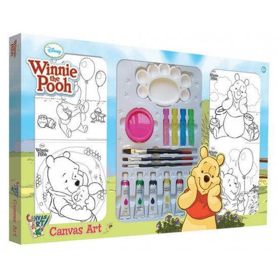 Verf setje voor kinderen met Winnie de Poeh