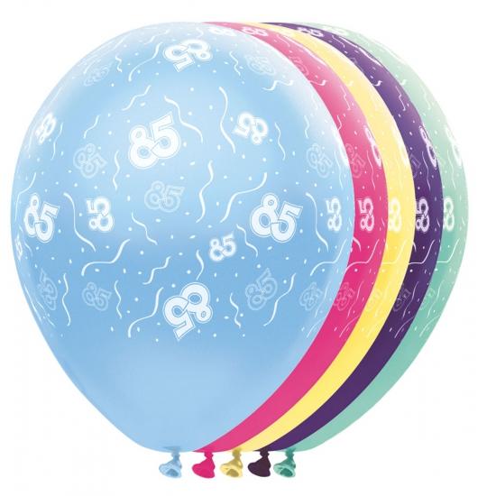 Verjaardag 85 jaar helium ballonnen