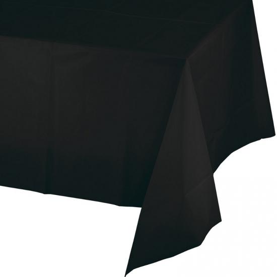 Verjaardag tafellaken zwart