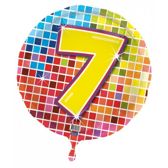 Verjaardagsballon 7 jaar helium