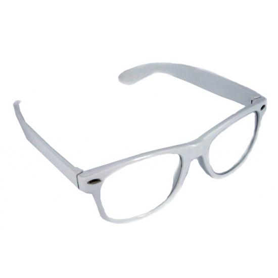 Verkleed bril wit