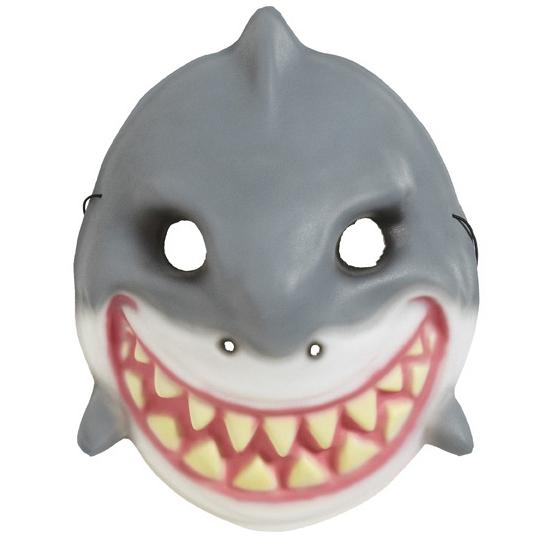 Verkleed haaien masker