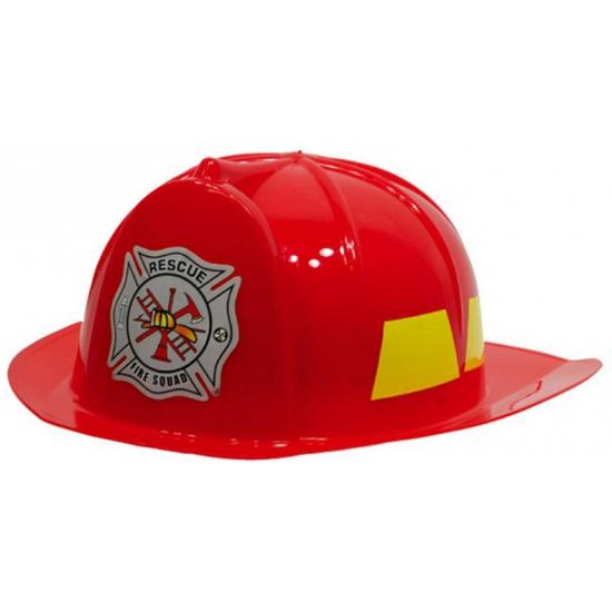 Verkleed helmen rood brandweer