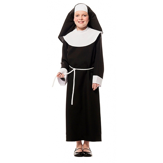 Verkleed kleding nonnen meisje