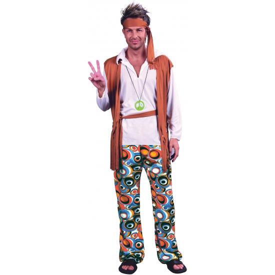 Verkleed kostuum hippies