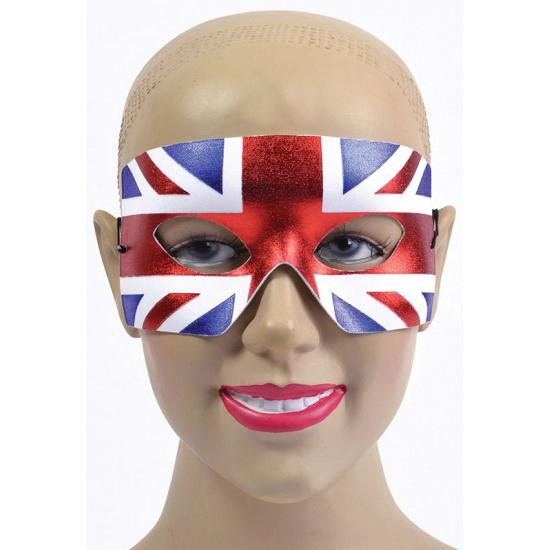 Verkleed masker Engelse vlag