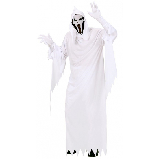 Verkleedkleding spook kostuum