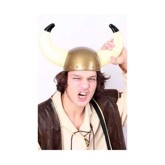 Viking helmen goud