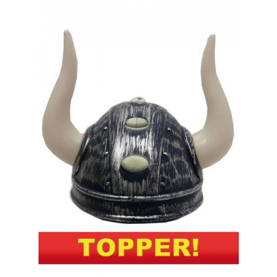 Viking helmen zilver