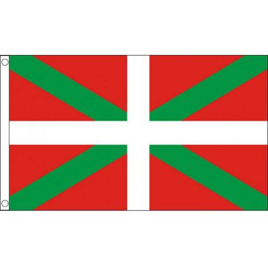 Vlag Baskenland polyester 90 x 150 cm