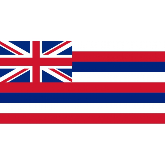 Vlag Hawaii polyester 90 x 150 cm