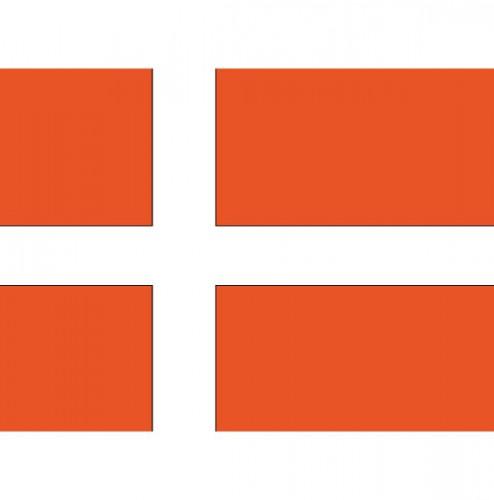 Vlag van Denemarken plakstickers