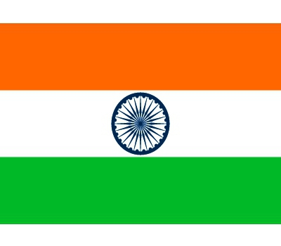 Vlag van India plakstickers