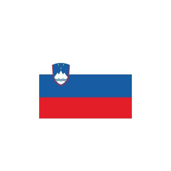 Vlag van Slovenie plakstickers