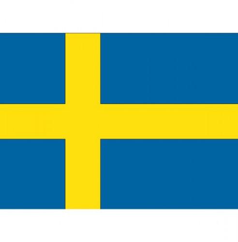 Vlag van Zweden plakstickers
