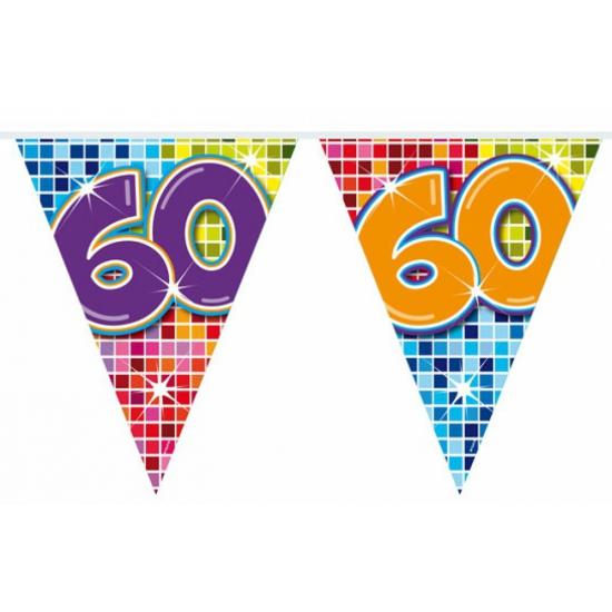 Vlaggenlijn 60 jaar 3 meter
