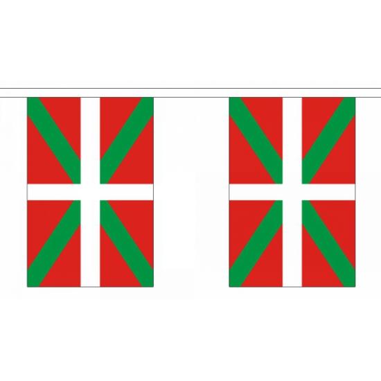 Vlaggenlijn Baskenland 9 m