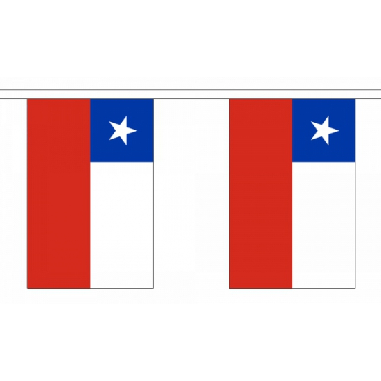 Vlaggenlijn Chili 9 m